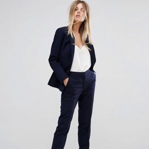 ASOS Blue Tailored Blazer with Pants